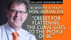 BC's Health Minister Adrian Dix gives us the latest on COVID-19